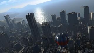 htc vive対応自作VRソフト 都会の高所体験「Tokyo skywalker VR」