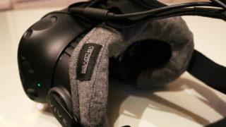 VR COVERをhtc VIVEのフェイスクッションに付けてみる