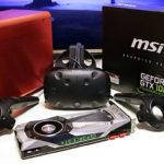 GTX1080TiのVR性能をhtc VIVE 内部解像度2.0で試す