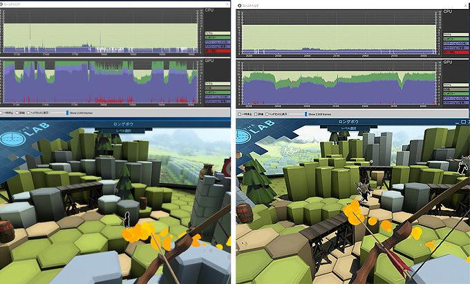 SteamVRの設定に追加された「Supersampling」オプションで内部