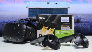 ローエンドでもVRしたい  NVIDIA編「Geforce GT 1030」ベンチマーク、VRゲーム性能レビュー
