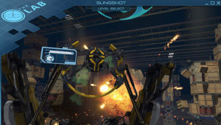 SteamVR「The lab」の「Slingshot」が動作しない場合の対応方法・遊び方